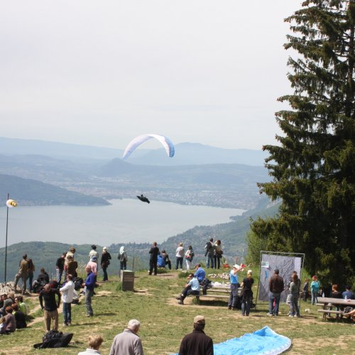 Paragliding sites   Talloires - Lac Annecy