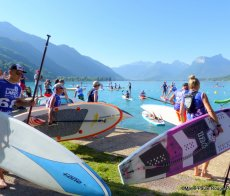 Fat Pop Race Stand Up Paddle Talloires