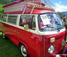 Meeting VW Cox Combi Talloires